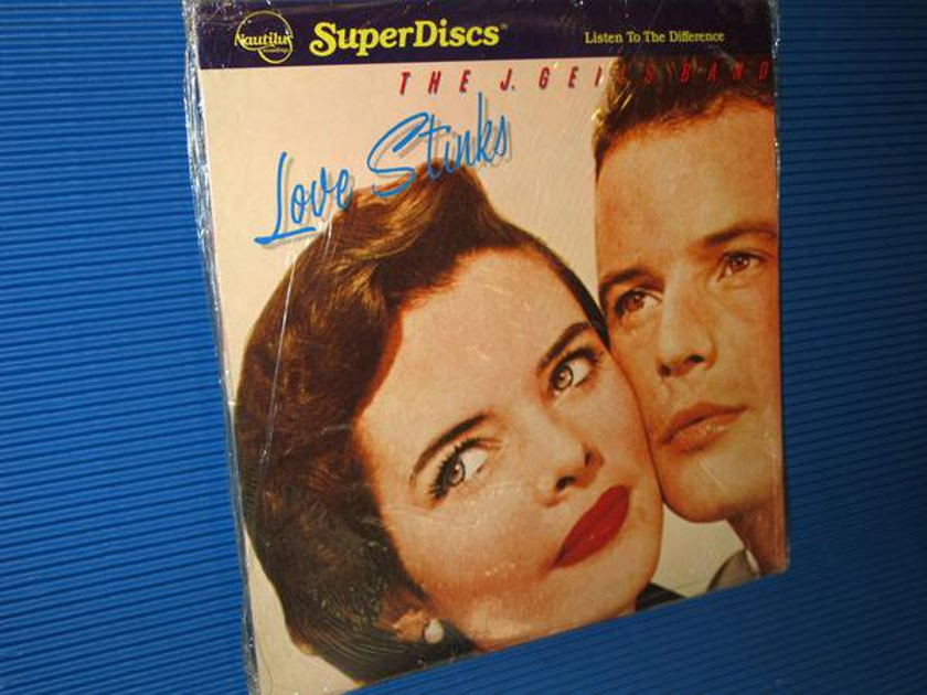 "THE J. GEILS BAND -  - ""Love Stinks"" - Nautilus Super Discs 1982 Sealed"
