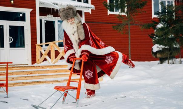 В гости к хаски и карельскому Деду Морозу