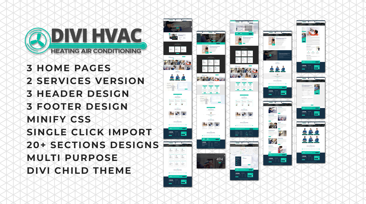 Divi Hvac Theme