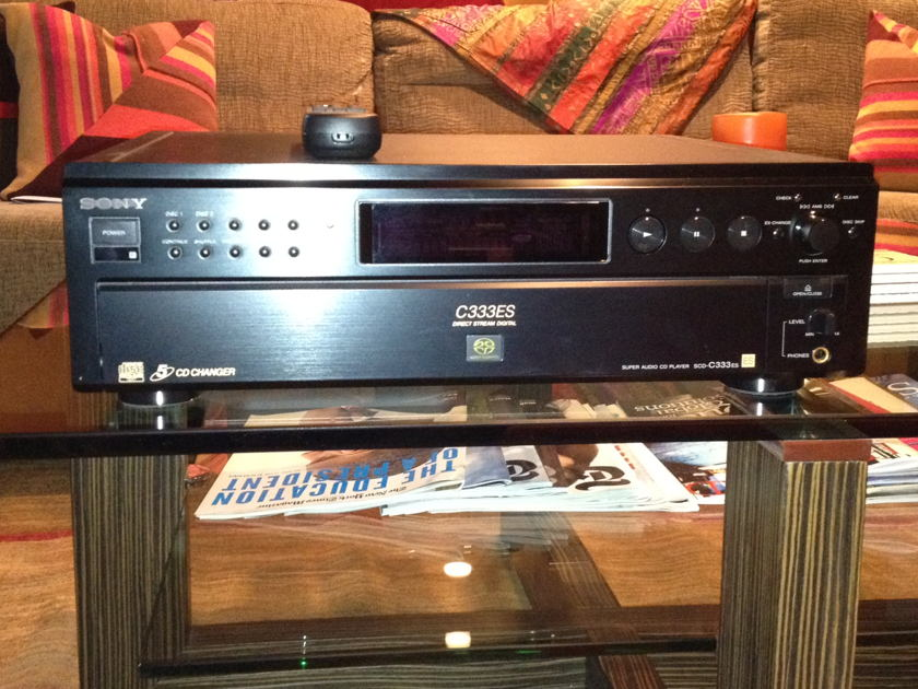 Sony SCD-C333ES Great SACD/CD Changer
