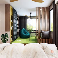 zcube-designs-sdn-bhd-contemporary-minimalistic-modern-malaysia-selangor-bedroom-study-room-3d-drawing