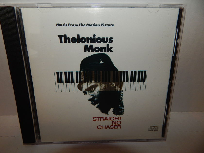 THELONIOUS MONK Straight No Chaser - Soundtrack Original 1989 CK 45358  Like Brand New Mint CD