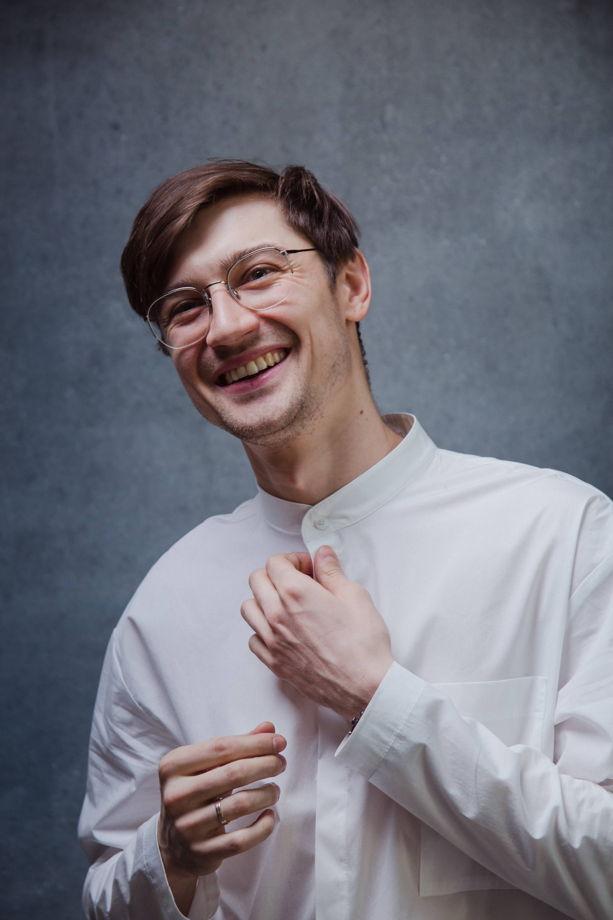 Рубашка белая из итальянского хлопка