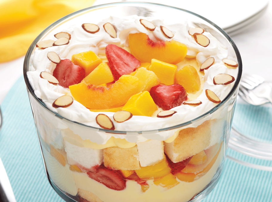 Festive Fruit Trifle