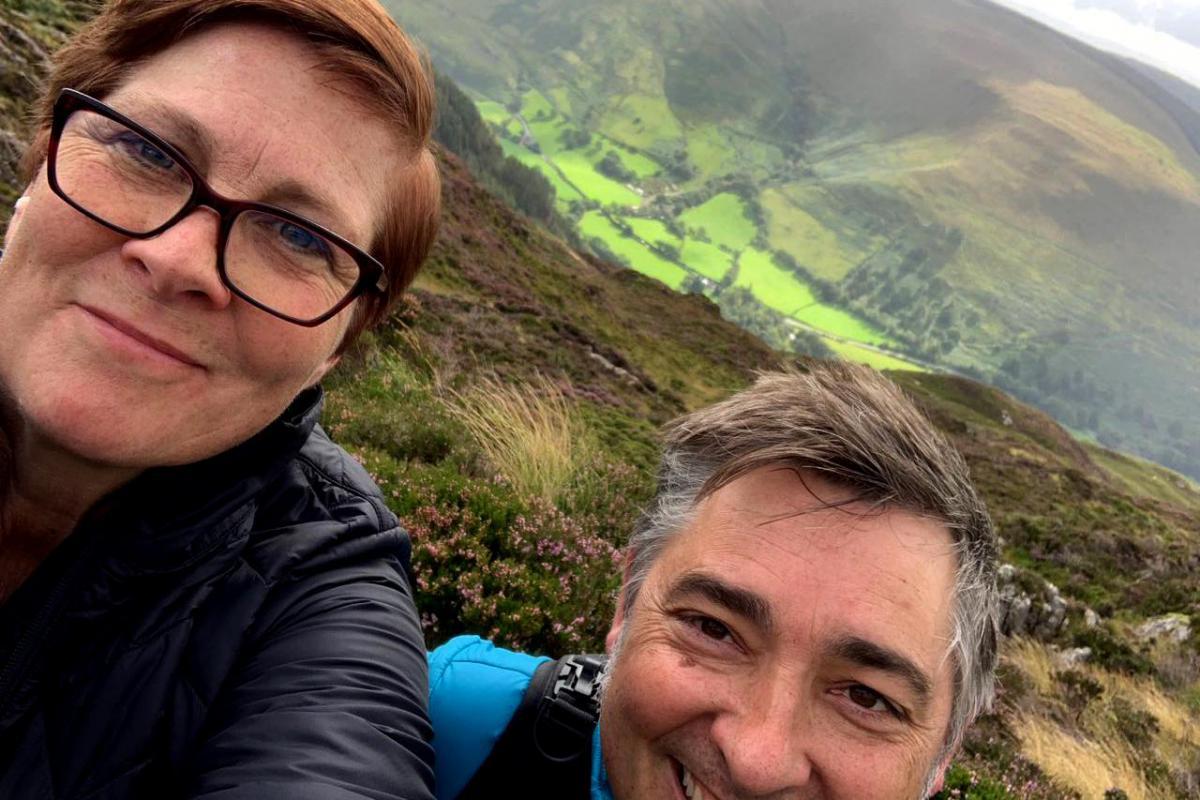 Rachel & Michael (team twofish) - trekking to tackle poverty