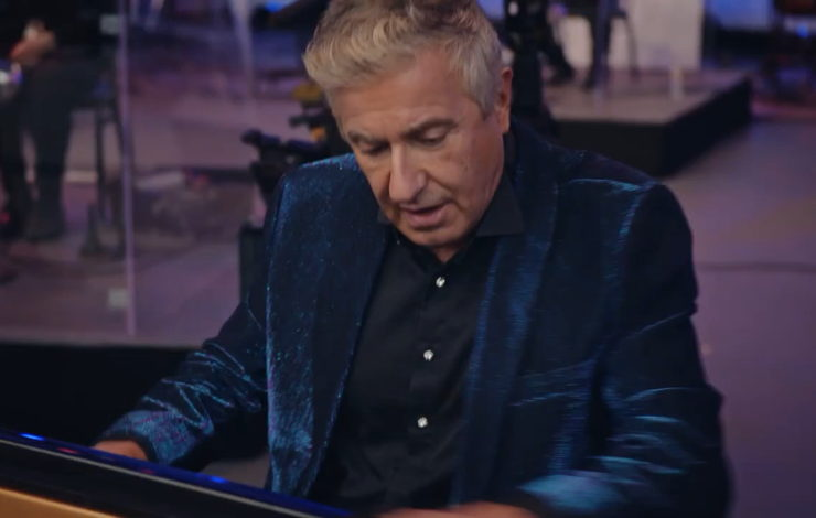 Jean-Yves Thibaudet performs at the Hollywood Bowl