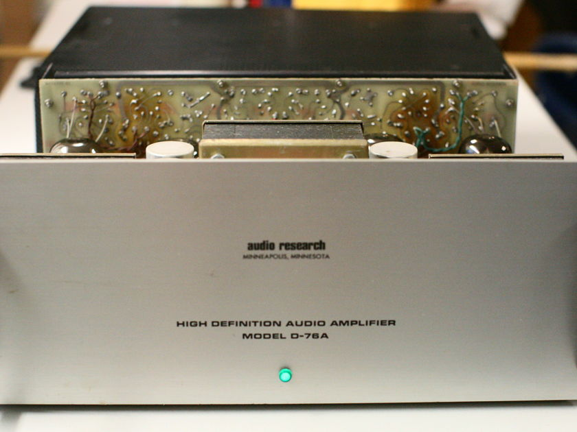 Audio Research D-76a 75w Tube Amplifier
