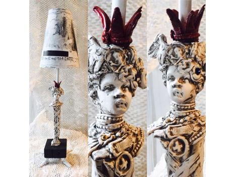 L'Enfant Terrible Handmade Lamp by Artist Paul Gruer