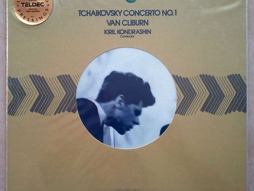 Sealed/RCA Half-Speed/Cliburn/Kondrashin/Tchaikovsky - Piano Concerto No.1 / Audiophile German Pessings