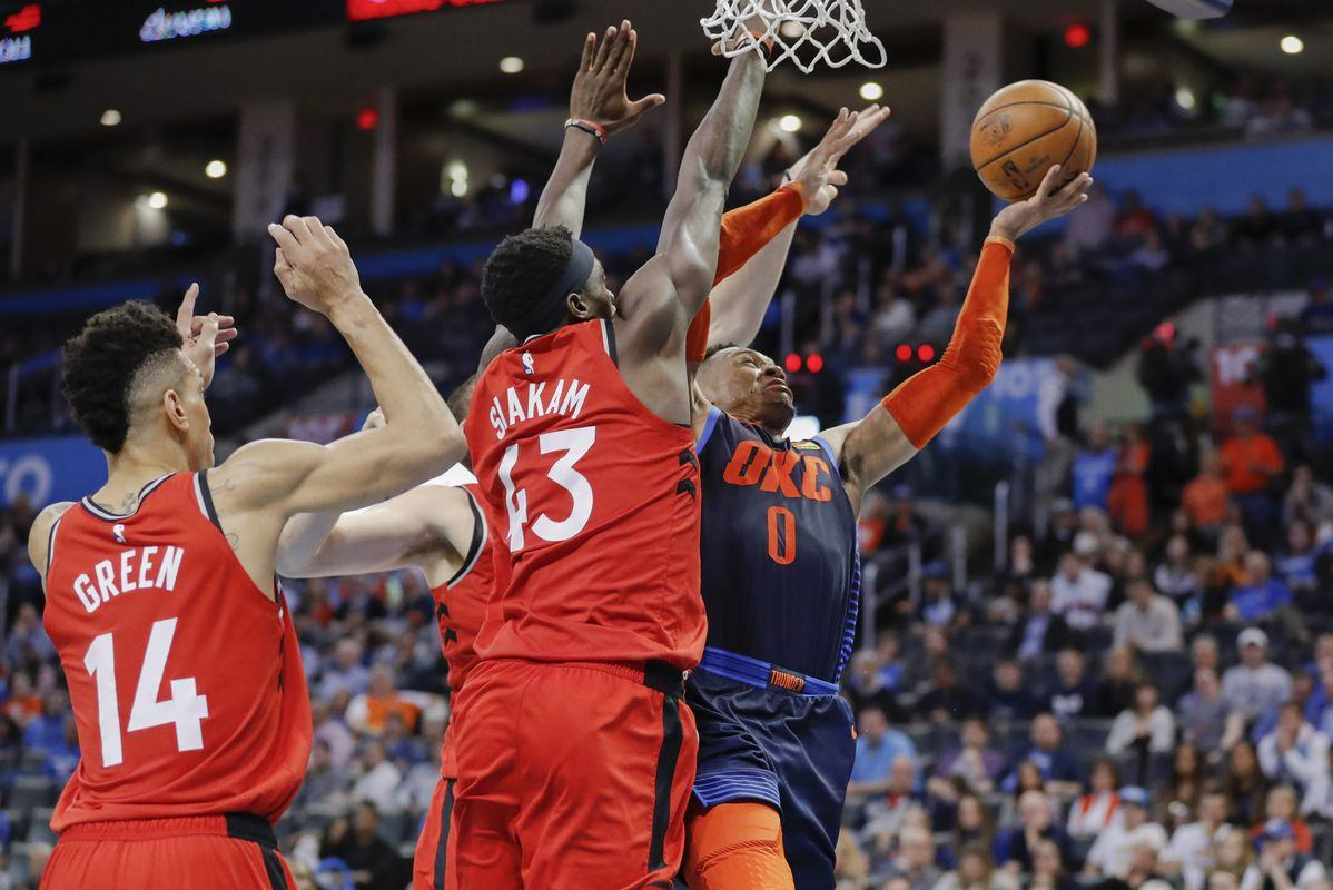 NBA Free Picks & Predictions: Raptors vs Thunder