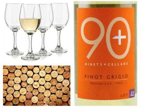 White Wine & Glasses