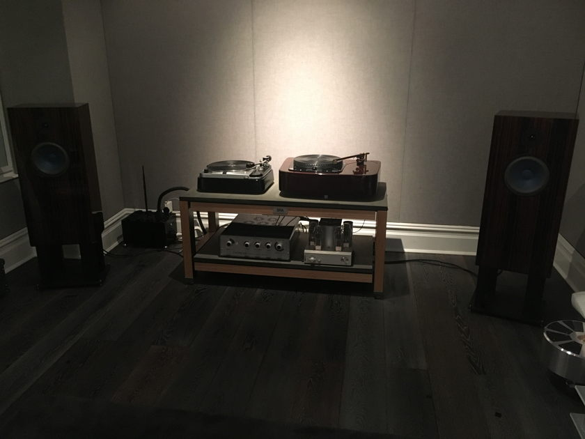 Audio Note UK AN-SPx Alnico Speakers in Macassar As New