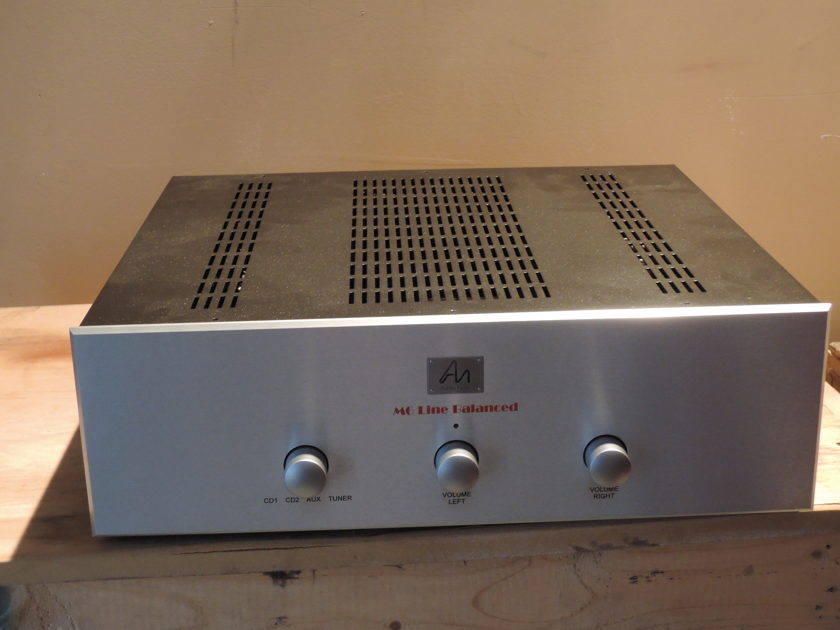 Audio Note UK M6 Line Balanced Preamplifier!! 9.5/10 CONDITION!!!  Wrnty!!!!!