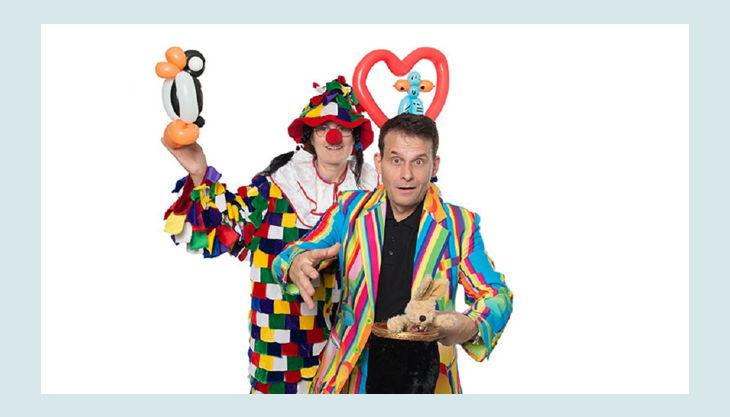 zauberer minimax luftballon clowns