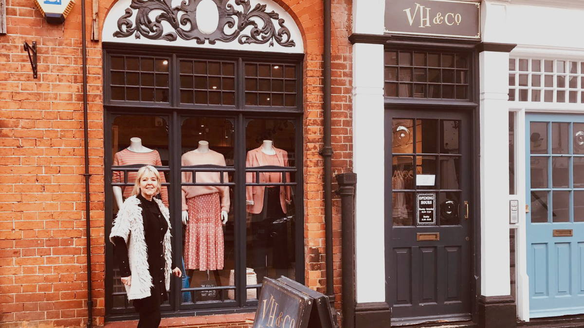 VH & Co Henley Front of Shop