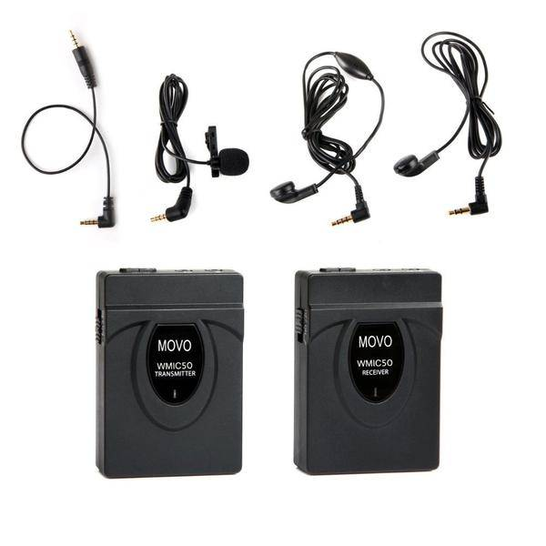 Movo 2.4 GHz Wireless Microphone System