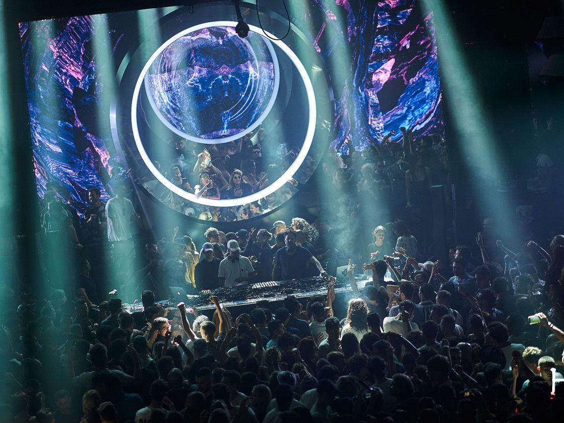 party Odyssey at Hi Ibiza club closing party