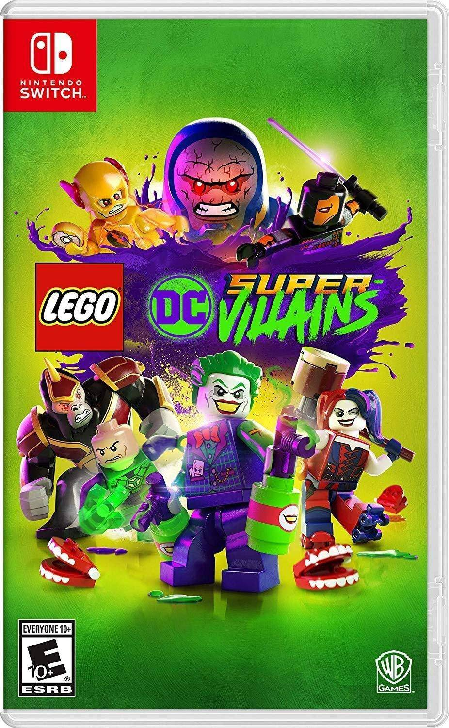 1. LEGO DC Super-Villains - Nintendo Switch