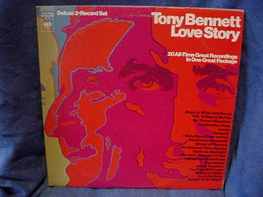 Tony Bennett  Double LP - Love Story / 20  Love songs Columbia <360> GP-14 2LP USA