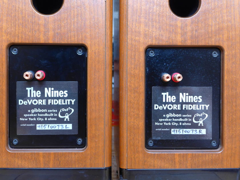 DeVore Fidelity The Nines Speakers