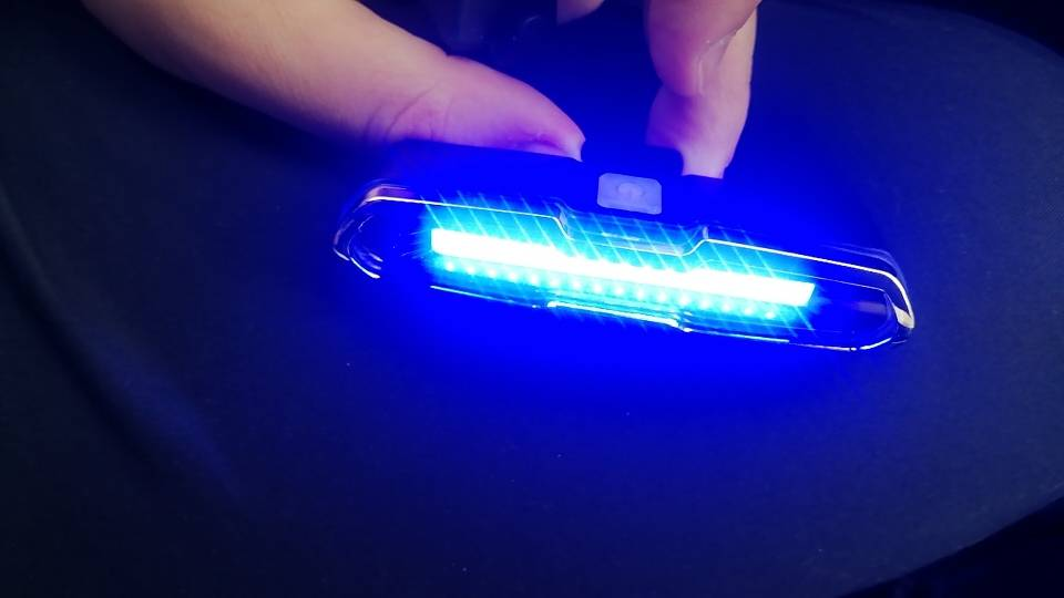 eclairage pour trottinette electrique led multicolore puissante