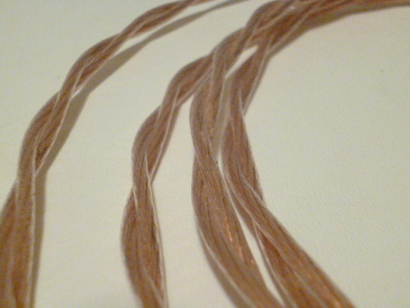 Schmitt Custom Audio 4mm 6n Occ Copper Speaker Cables 10ft