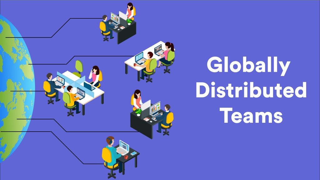 Globally distributed teams 33qu4