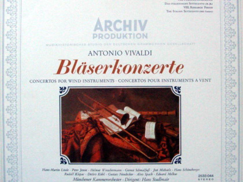 1st Press Archiv / STADLMAIR, - Vivaldi Concertos for Wind Instruments, MINT!