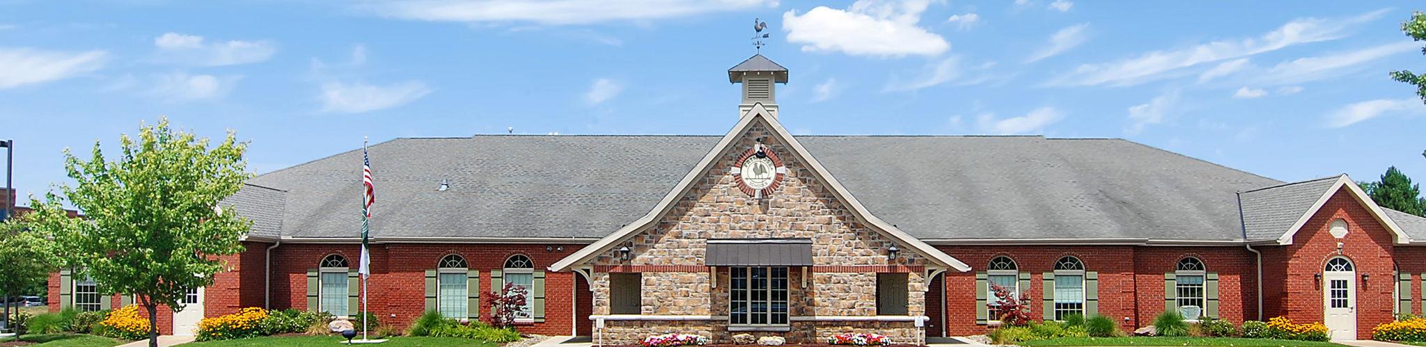 Exterior of a Primrose School of Hudson