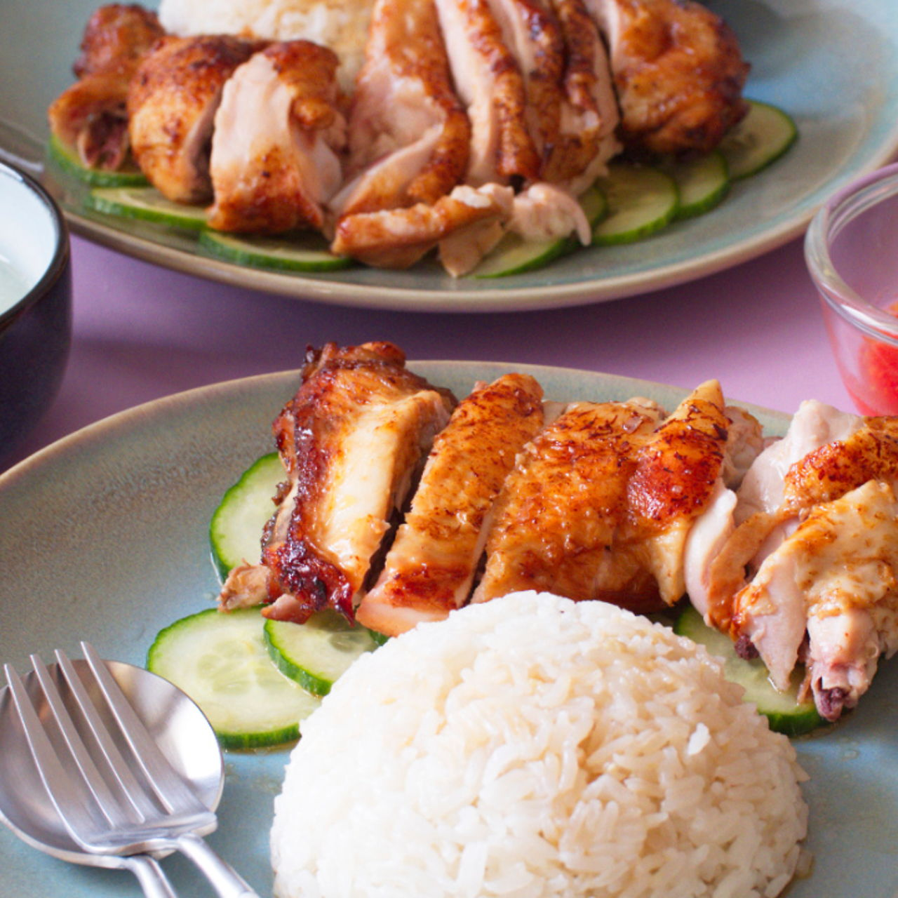 Roasted Chicken Rice Southeast Asian Recipes Nyonya Cooking