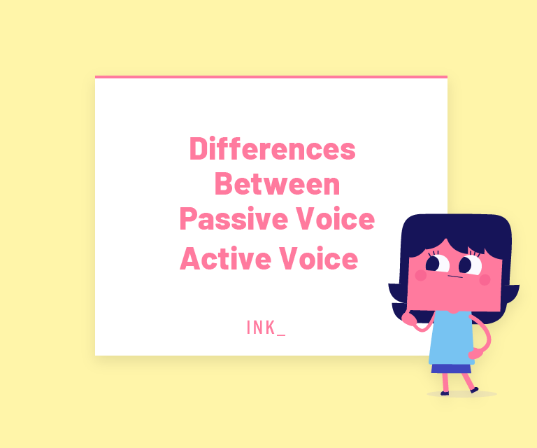 Differences between passive voice and active voice