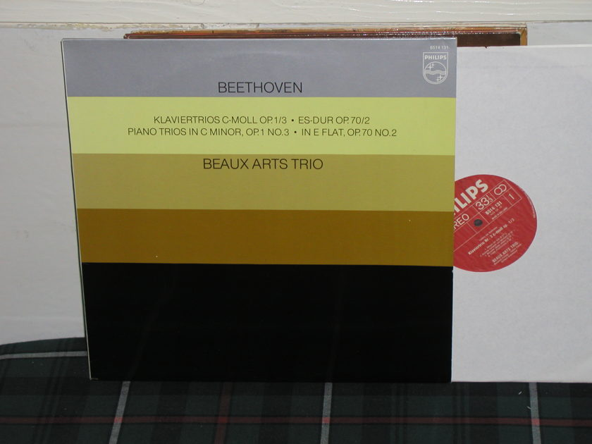 Beaux Arts Trio - Beethoven Trios Philips Import pressing 6514