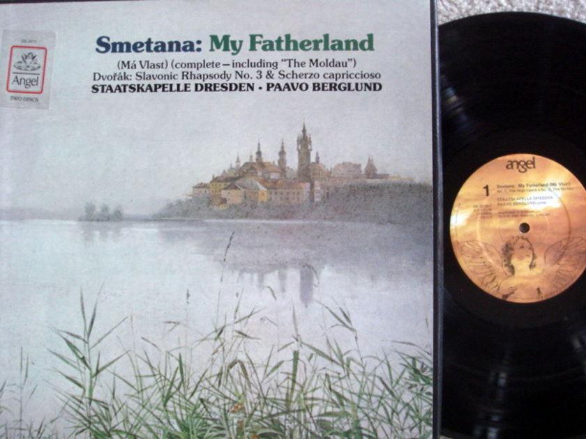 EMI Angel / BERGLUND, - Smetana Ma Vlast,  MINT, 2LP Box Set!