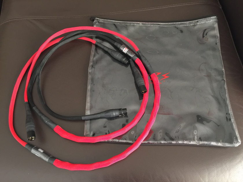 NBS Audio Cables Red Label  XLR