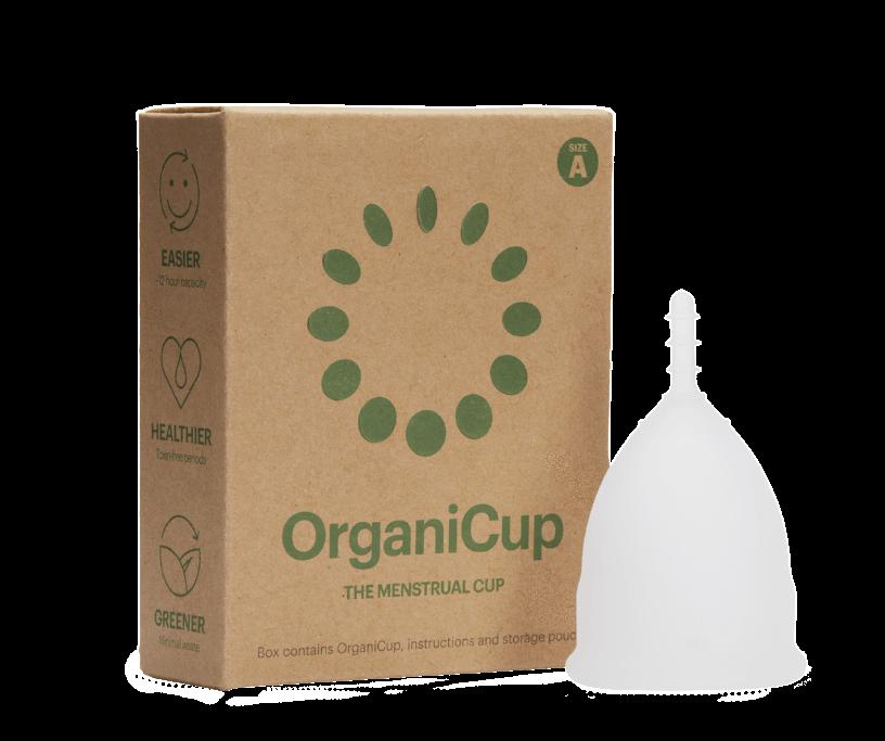 OrganiCup organic menstrual cup