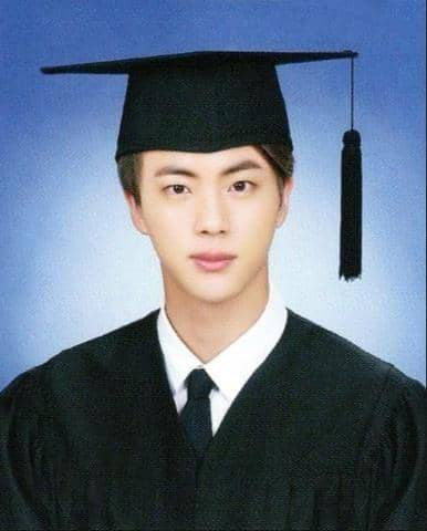 Jin bts diplome