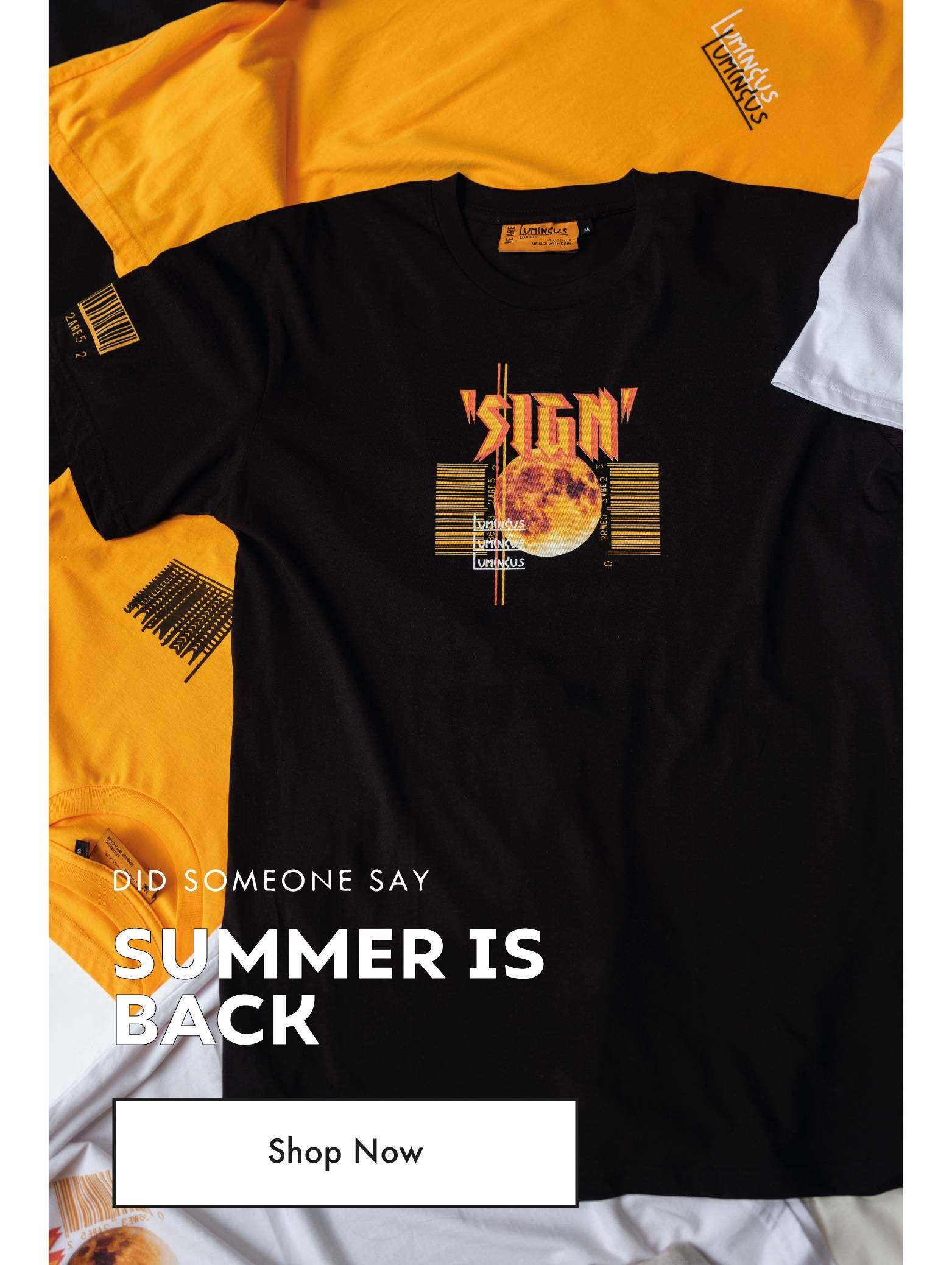 Did Someone Say Summer Is Back - Shop Now