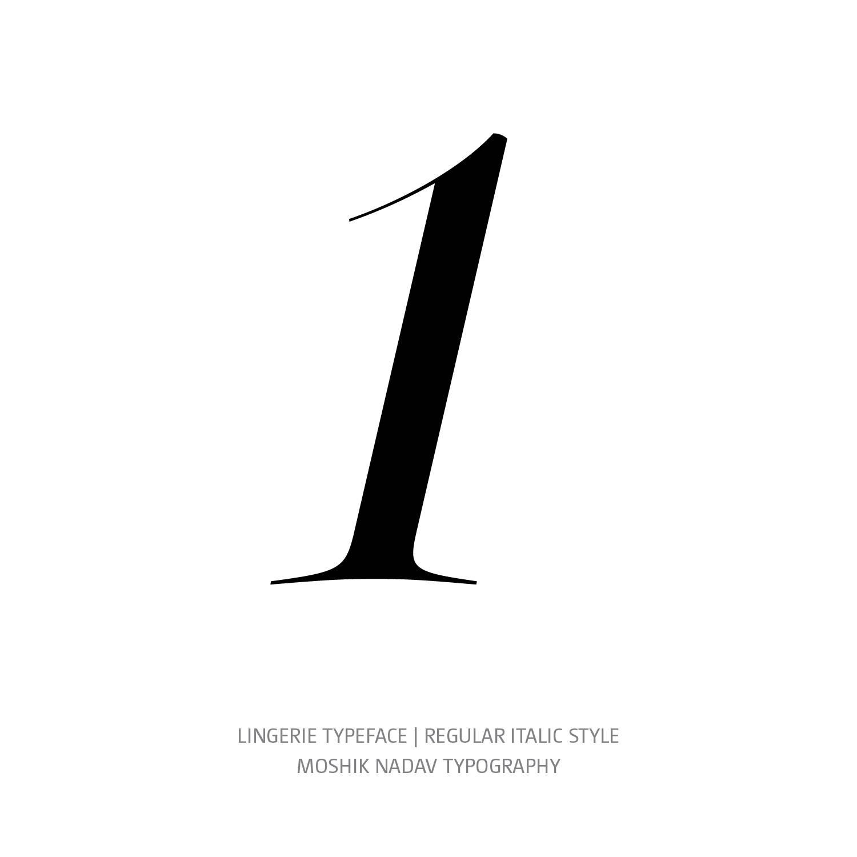 Lingerie Typeface Regular Italic 1 - Fashion fonts by Moshik Nadav Typography