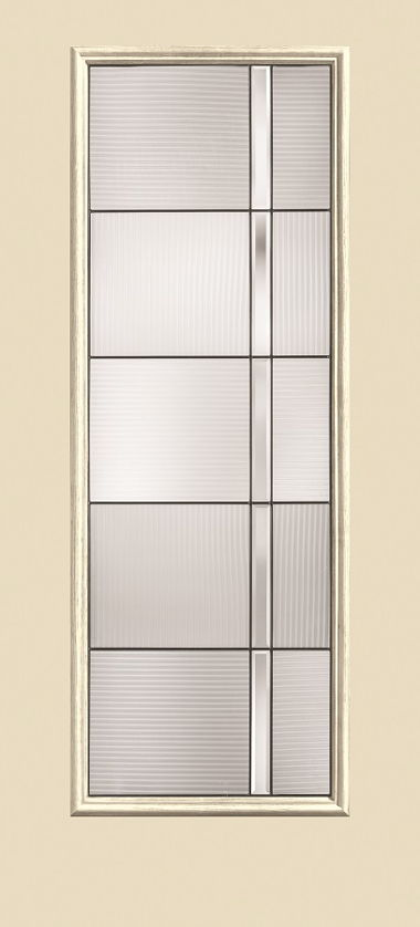 THERMA TRU DECORATIVE FULL AXIS GLASS EXTERIOR DOOR