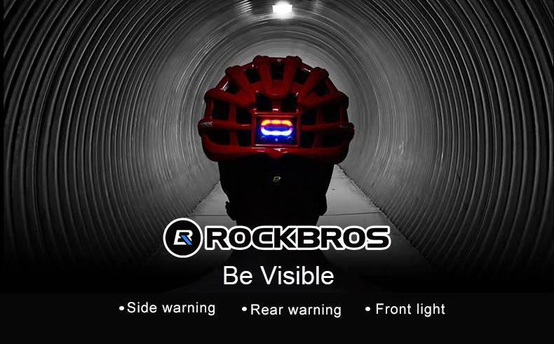 Bike Helmet, ROCKBROS, LED helmets
