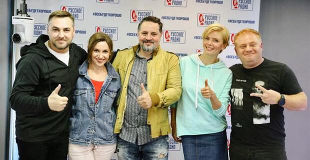 Анна Чурина и Олег Степченко в гостях у «Русских Перцев» - Новости радио OnAir.ru