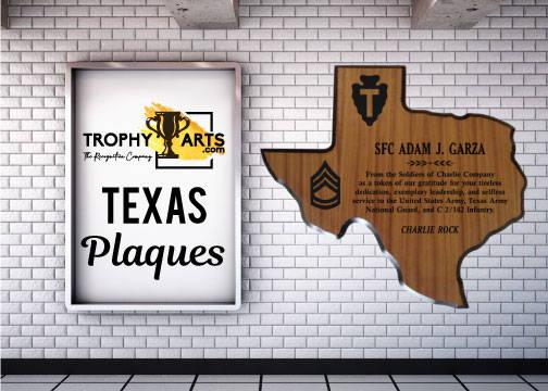 Texas Plaques