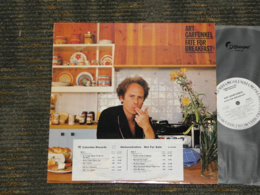"""Art Garfunkel - """"Fate For Breakfast"""" Columbia JC 35780 W L Promo w/timing strip"""