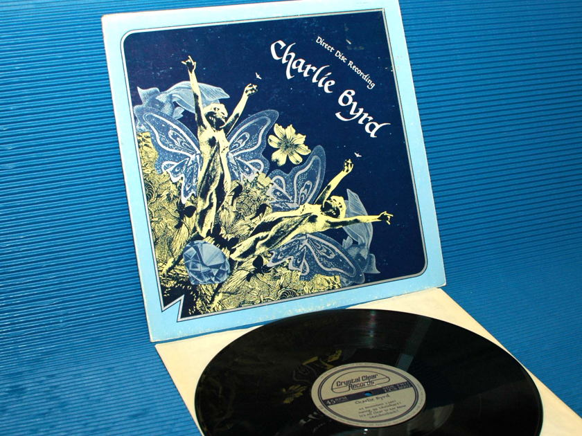 """CHARLIE BYRD -  - """"Direct To Disk"""" - Crystal Clear Direct-Disk 45 rpm 1977"""
