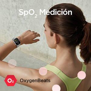 Amazfit GTS 2 - Medición de la saturación de oxígeno en sangre