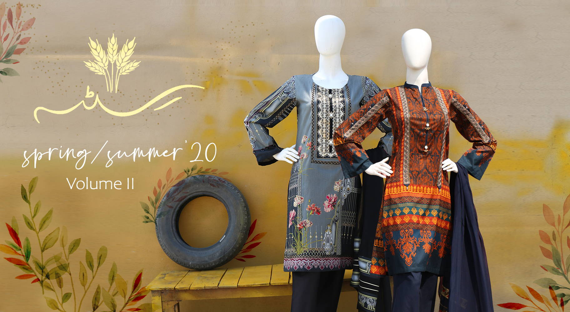 Summer Collection, casual wear, lawn & cotton