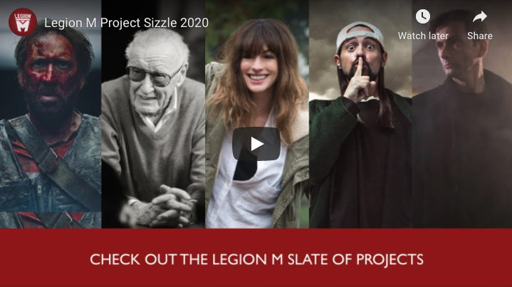 Legion M's Project Sizzle Reel