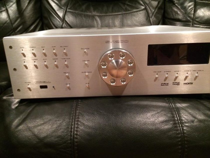 Krell S-1200u 3D Silver  (230v)
