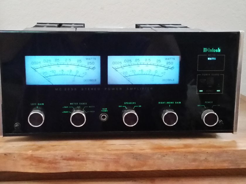 McIntosh MC 2252 MC 2255 only!!!This is not a 2252!!!
