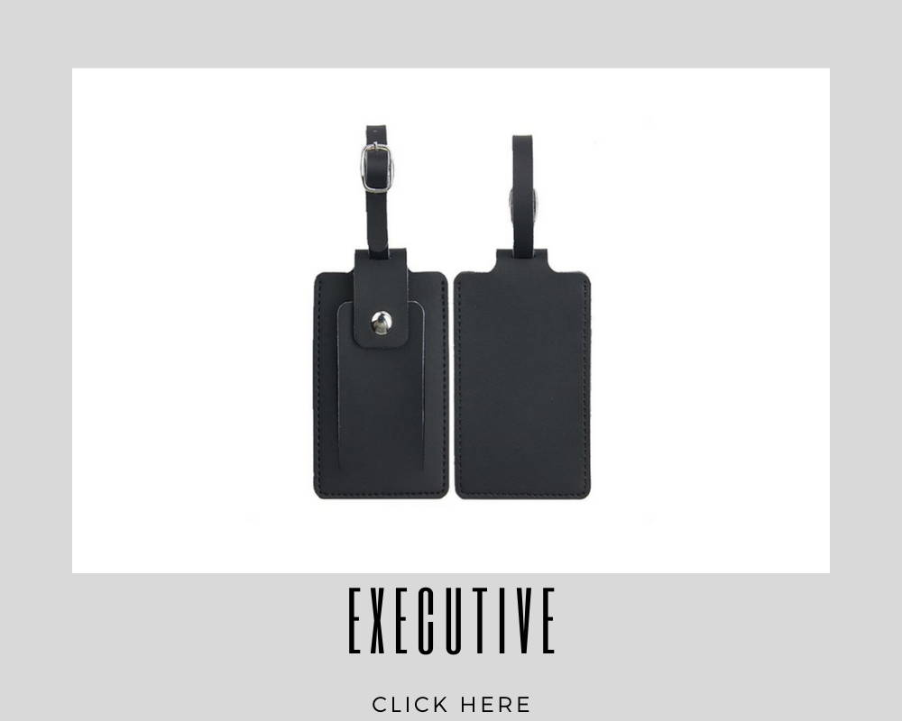Custom Corporate Executive Luggage Tags